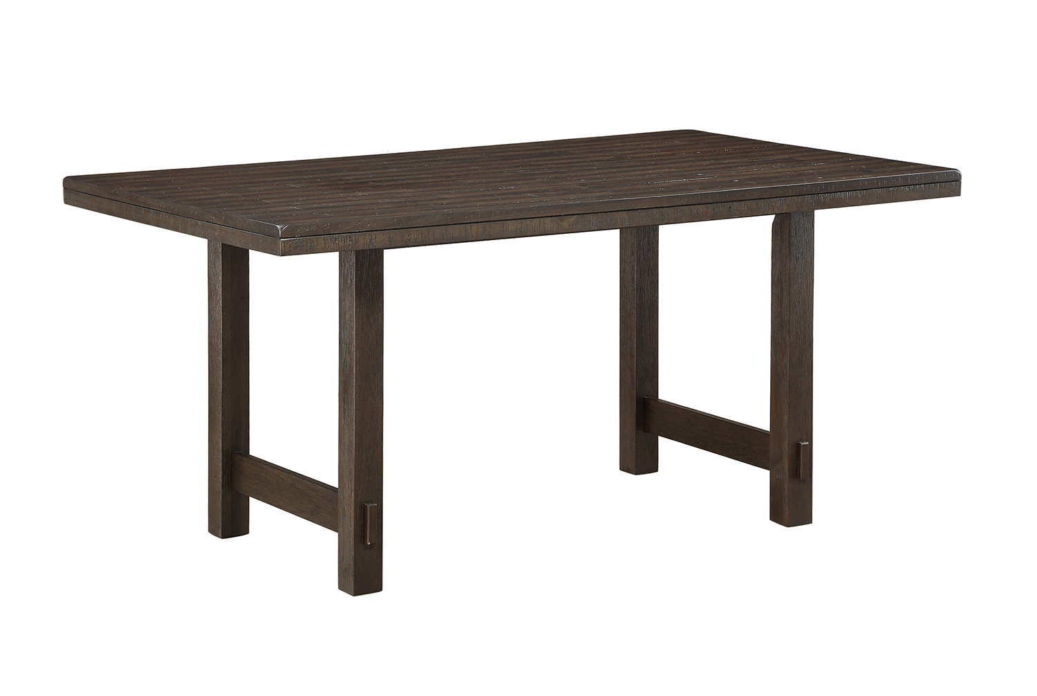 Homelegance Brim Dining Table - Brown Cherry