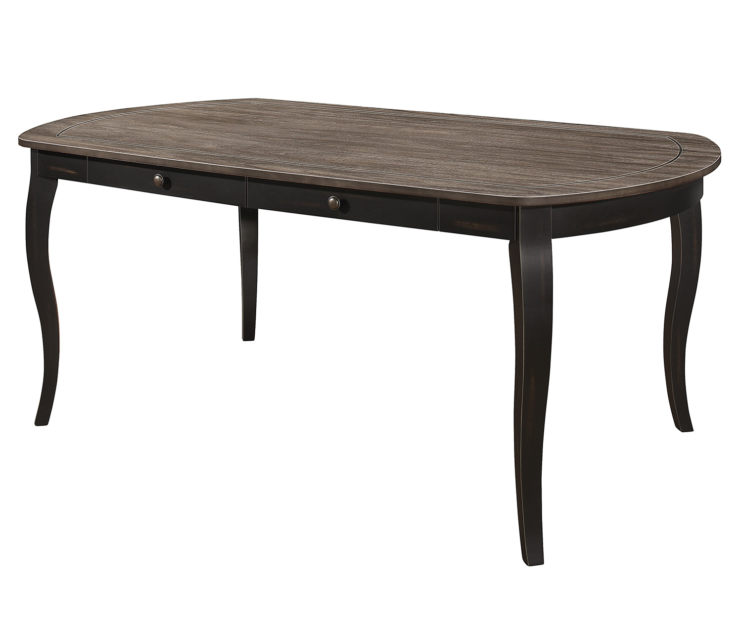 Homelegance Coring Dining Table - Antique 2-Tone