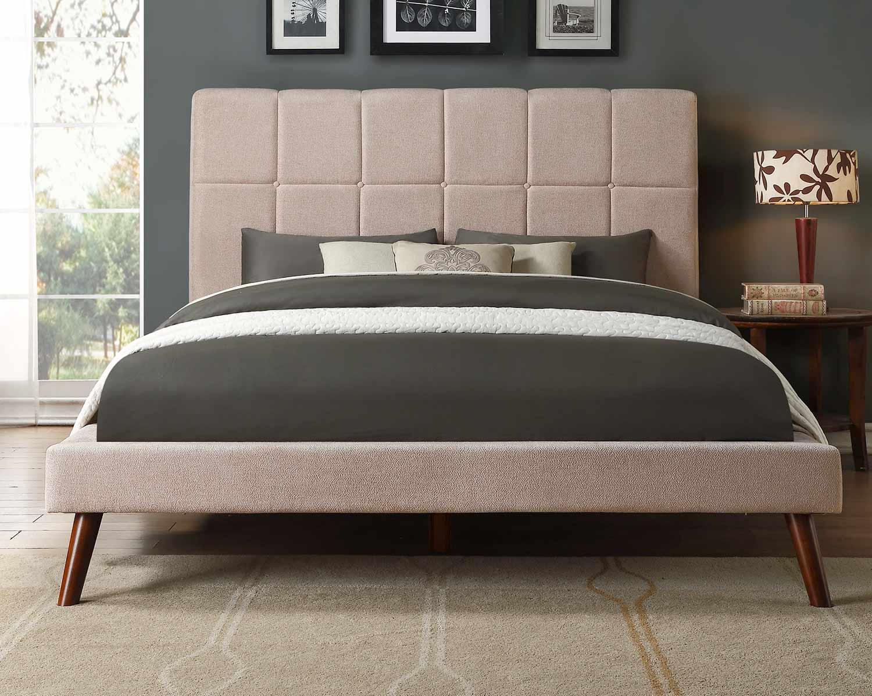 Homelegance Kinsale Platform Bed - Beige