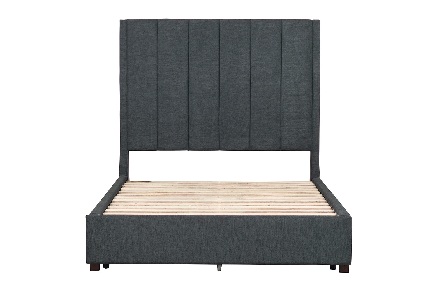 Homelegance Neunan Platform Bed - Dark Gray
