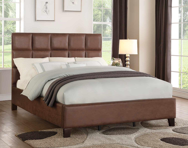 Homelegance Kaydee Bed - Neutral Brown