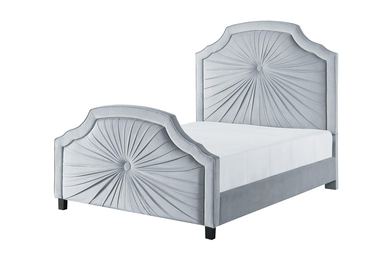 Homelegance Bossa Nova Bed - Light Gray