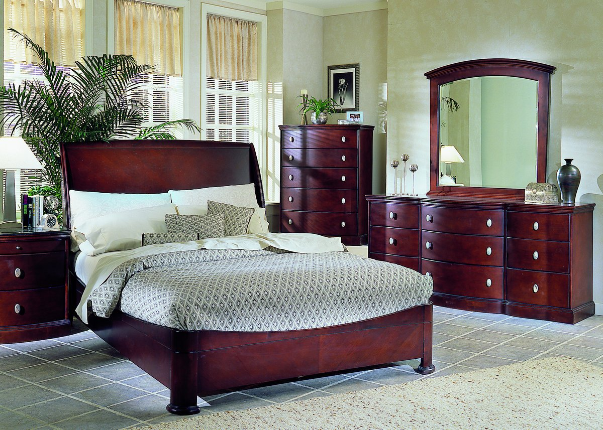 Homelegance 5th avenue bed with low profile footboard for Furniture 5th avenue