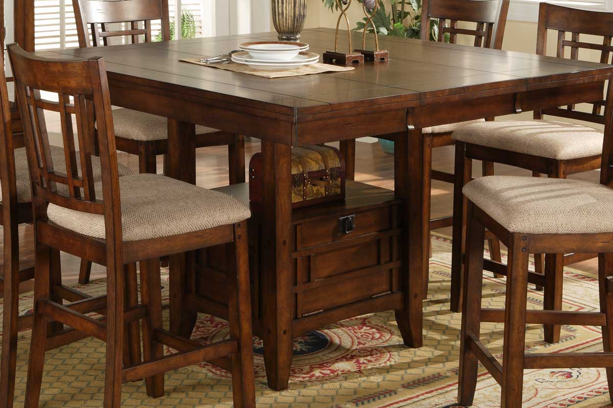 Homelegance Sophie Counter Height Dining Table & Homelegance Sophie Counter Height Dining Table 795-36 ...