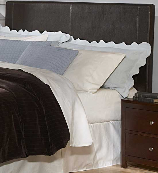 Homelegance Copley Dark Brown Bi-Cast Vinyl Headboard