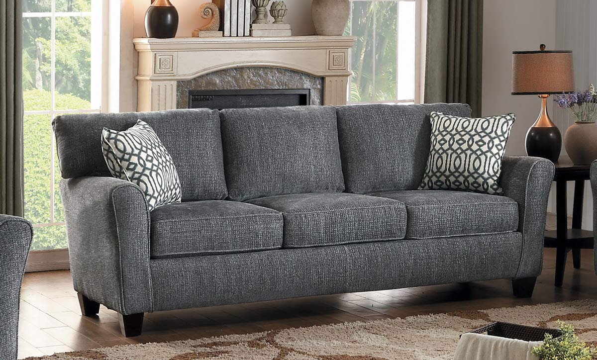 Homelegance Alain Sofa - Gray