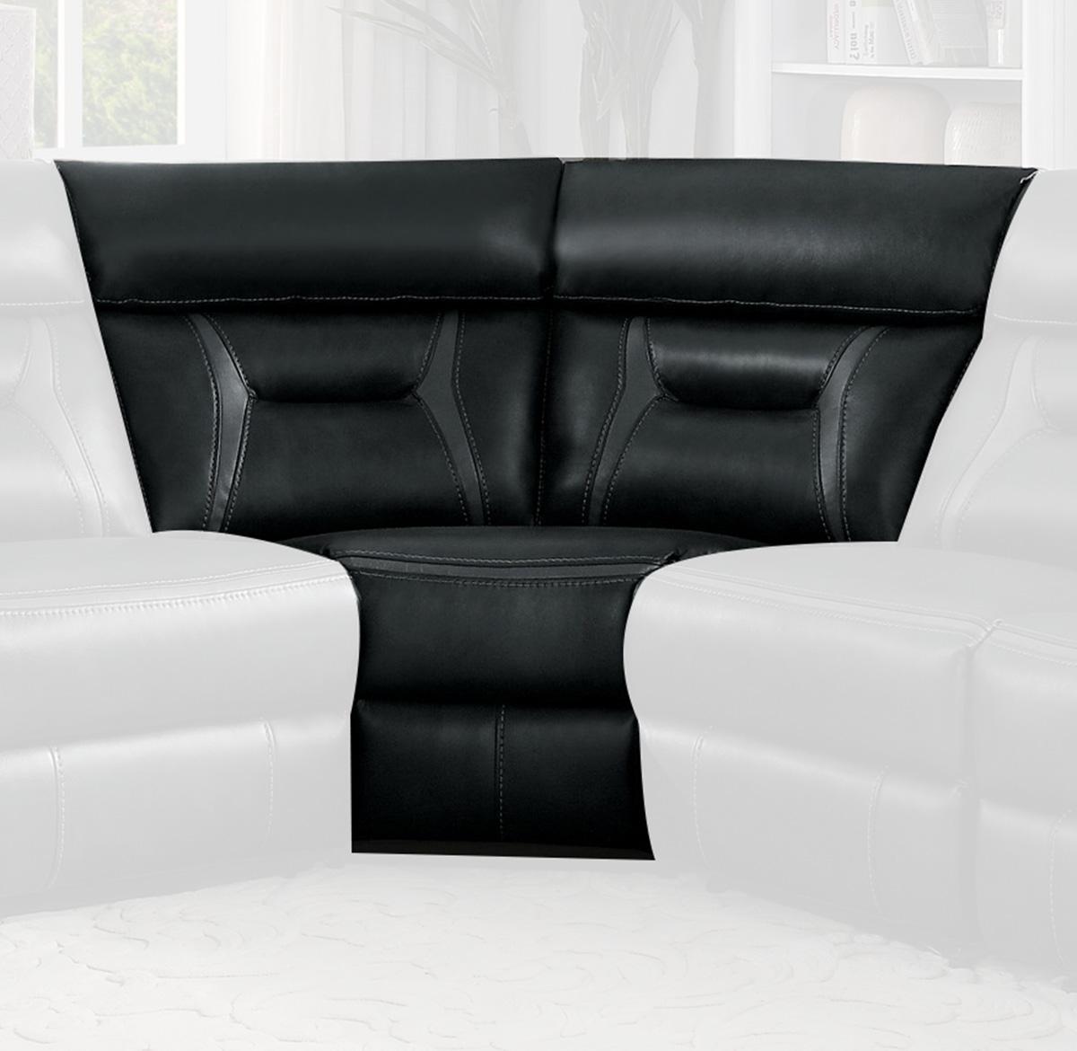 Homelegance Amite Corner Seat - Dark Gray