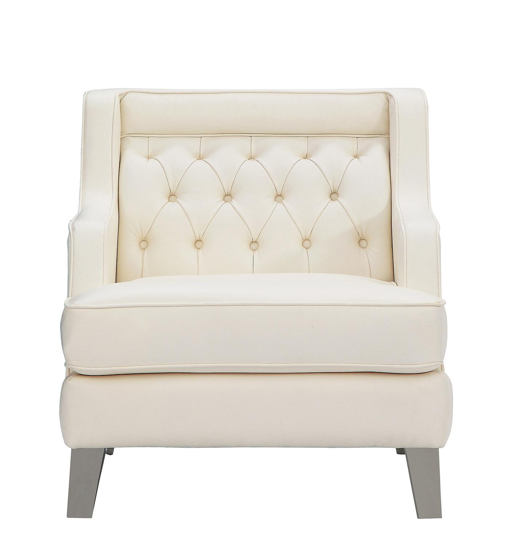 Homelegance Nevaun Chair - Cream
