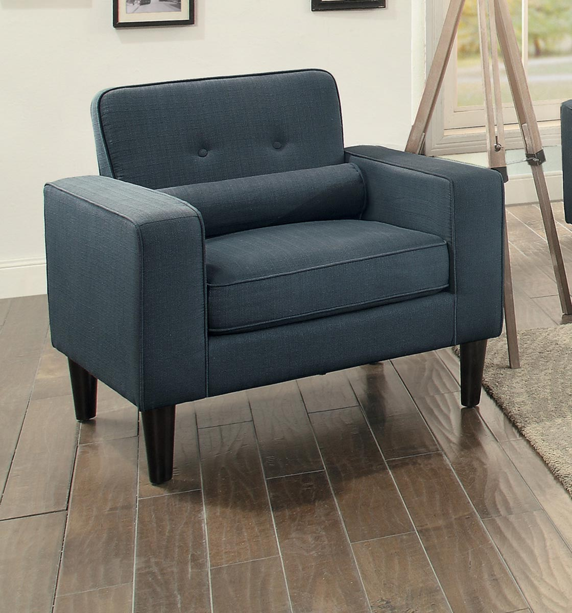 Homelegance Corso Chair - Dark Gray
