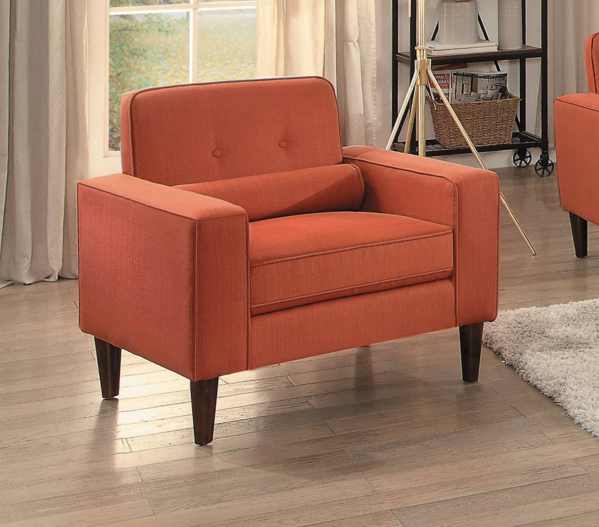Homelegance Corso Chair - Orange