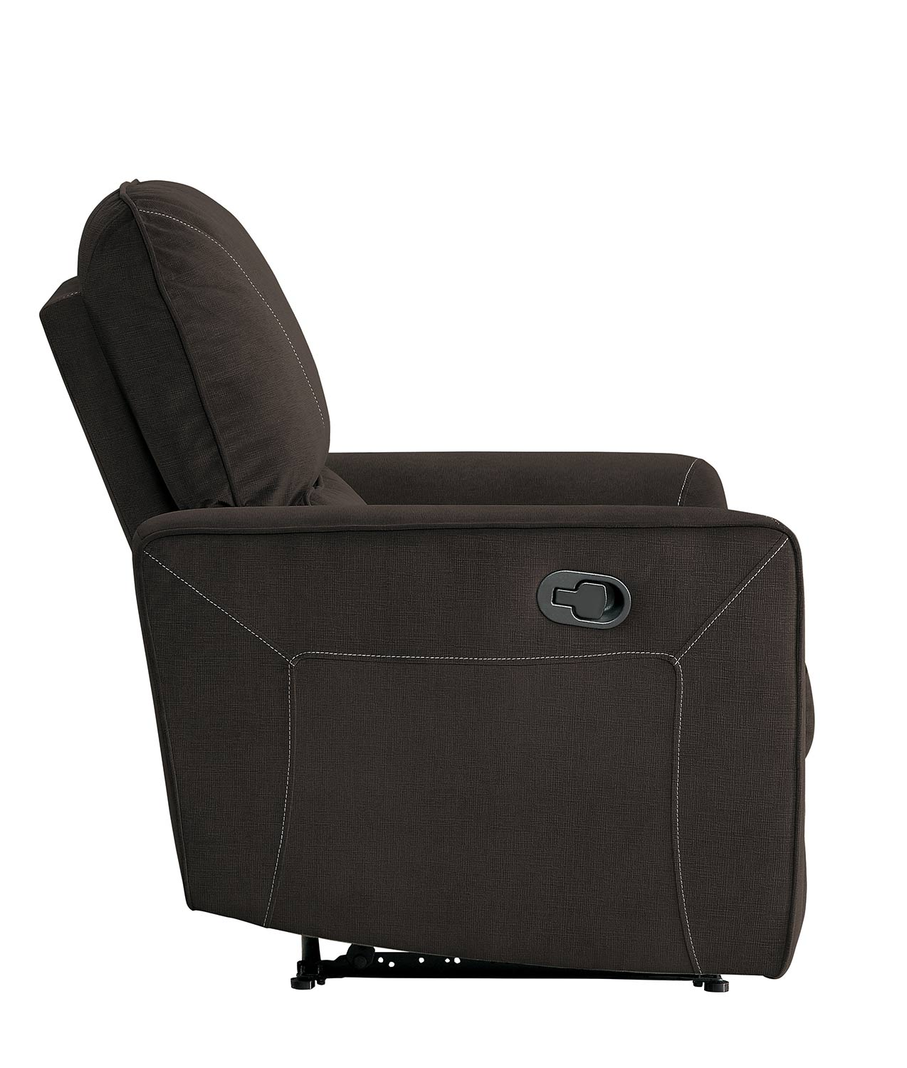 Homelegance Dowling Reclining Chair - Chocolate