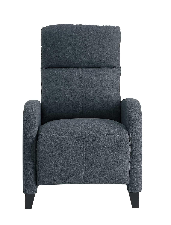 Homelegance Antrim Push Back Reclining Chair - Gray