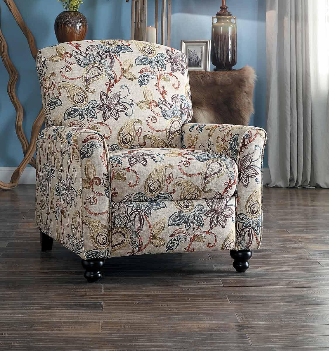 Homelegance Velsen Push Back Reclining Chair - Multi-Color
