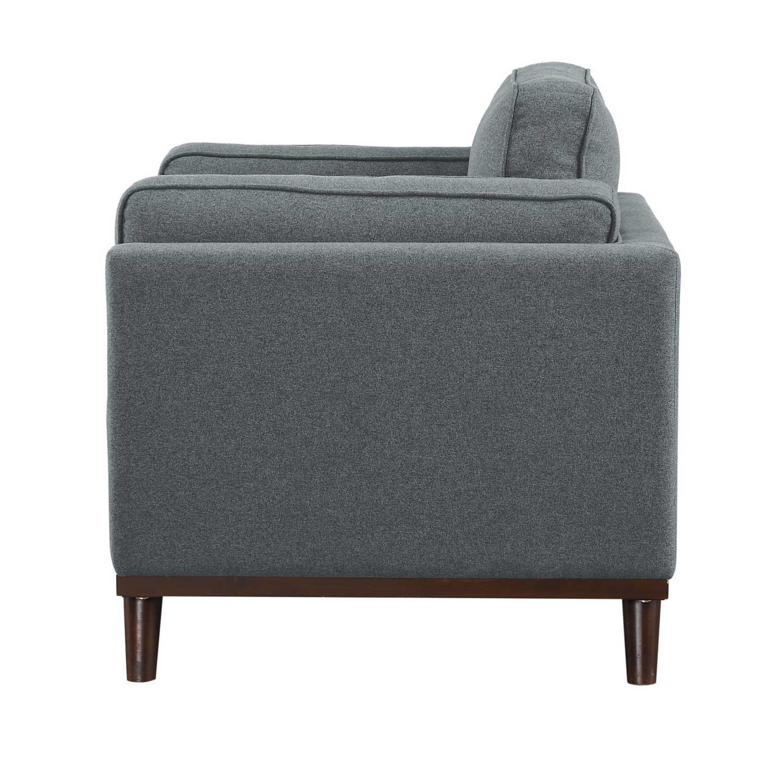 Homelegance Bedos Chair - Gray