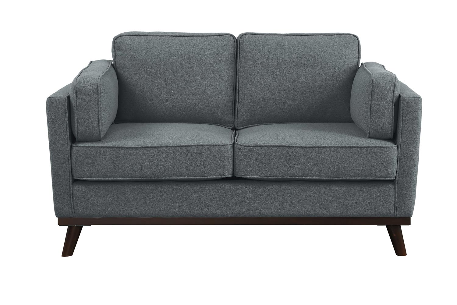 Homelegance Bedos Love Seat - Gray