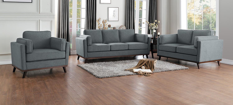 Homelegance Bedos Sofa Set - Gray