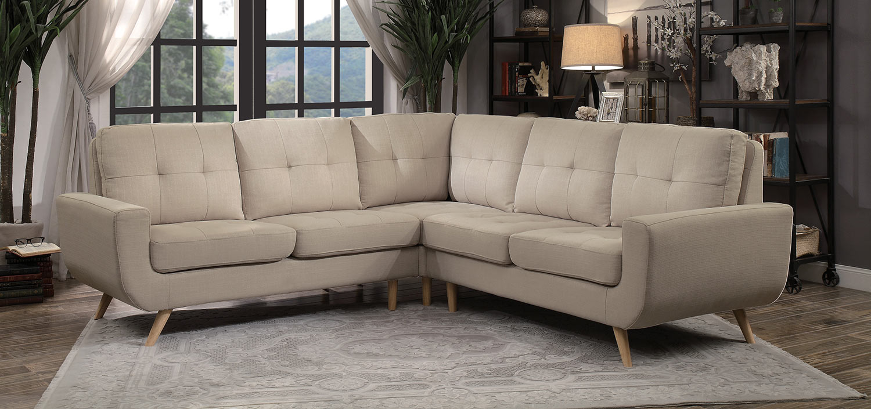 Homelegance Deryn Sectional Sofa - Beige