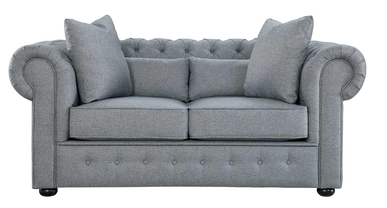 Homelegance Savonburg Love Seat - Gray