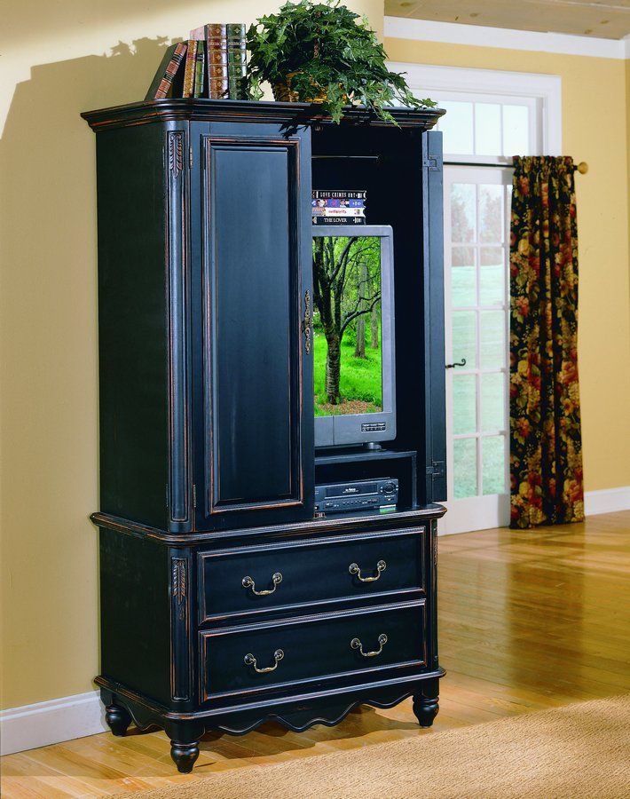 Homelegance bridges tv armoire 873 7 for Entertainment armoire