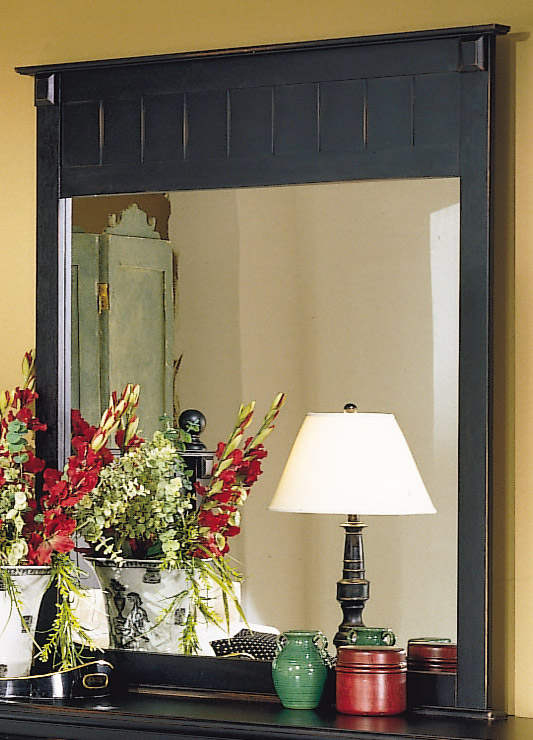 Homelegance Pottery Mirror Black