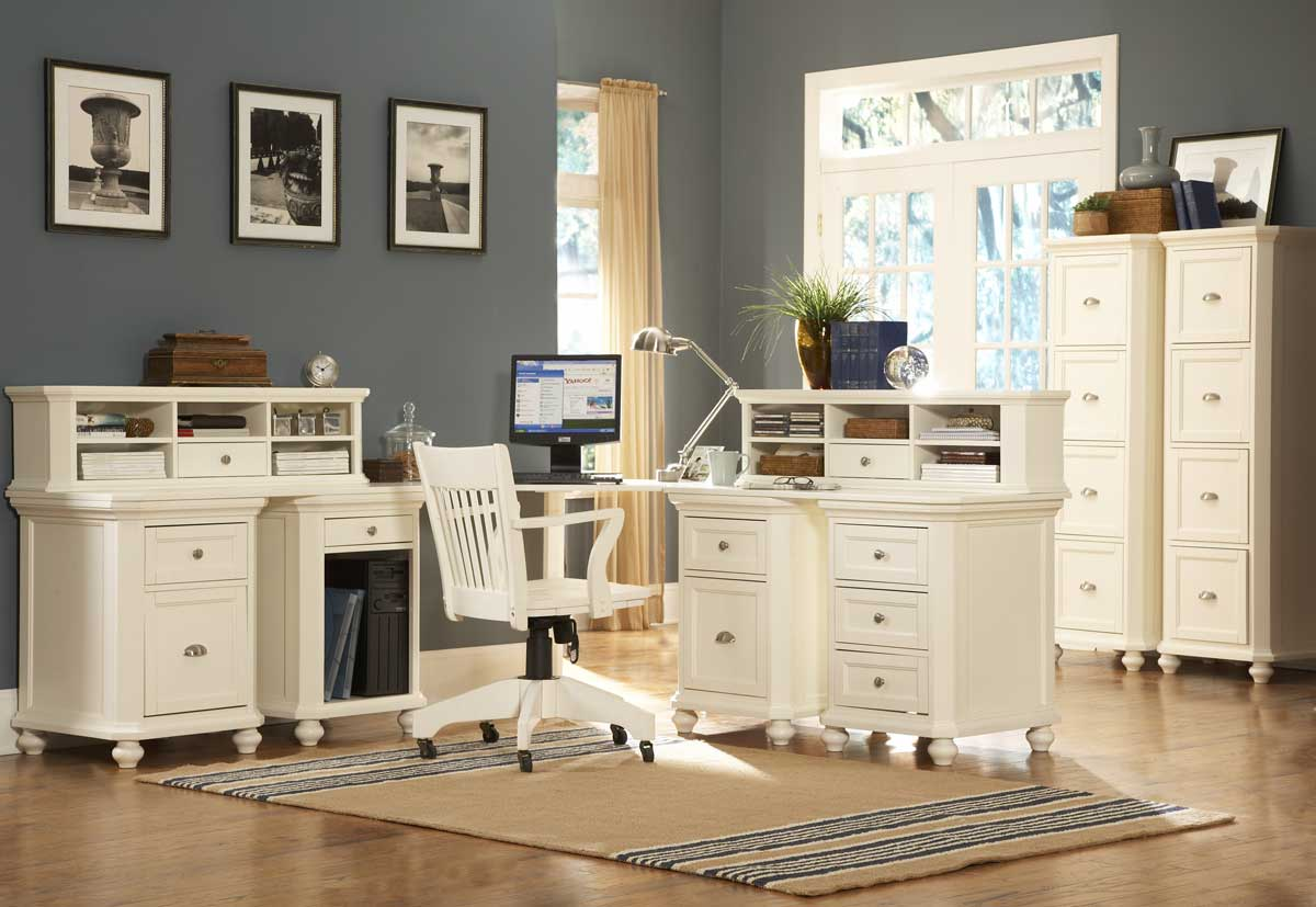 Homelegance Hanna Corner Office White