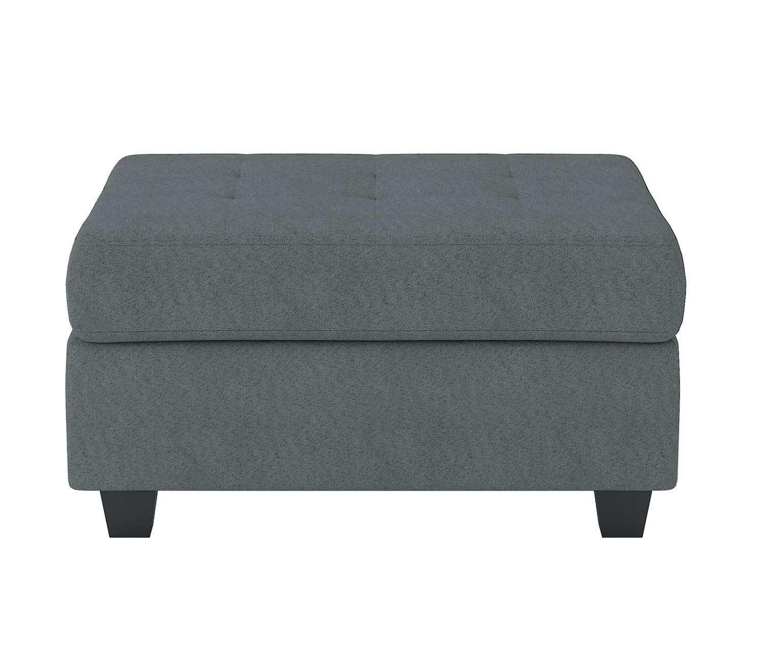 Homelegance Maston Storage Ottoman - Dark gray