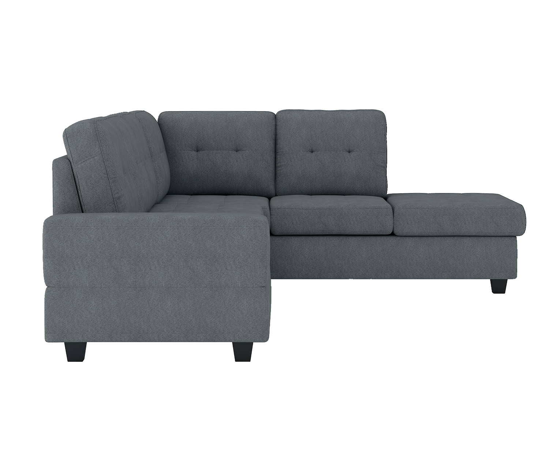 Homelegance Maston Sectional Sofa Set - Dark gray