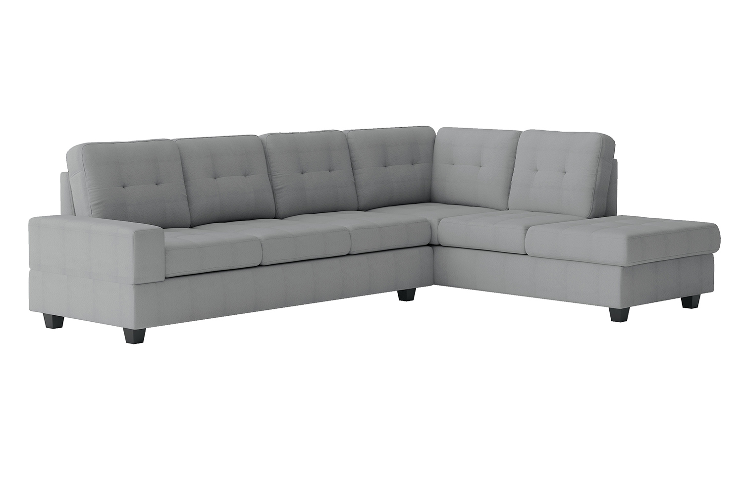 Homelegance Maston Sectional Sofa Set - Light gray