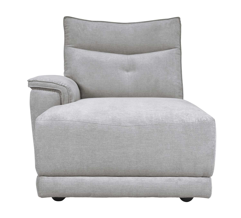 Homelegance Tesoro Left side chaise - Mist Gray