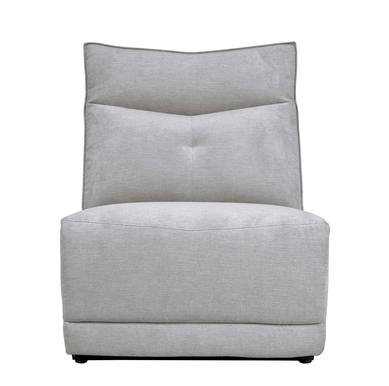 Homelegance Tesoro Armless Chair - Mist Gray