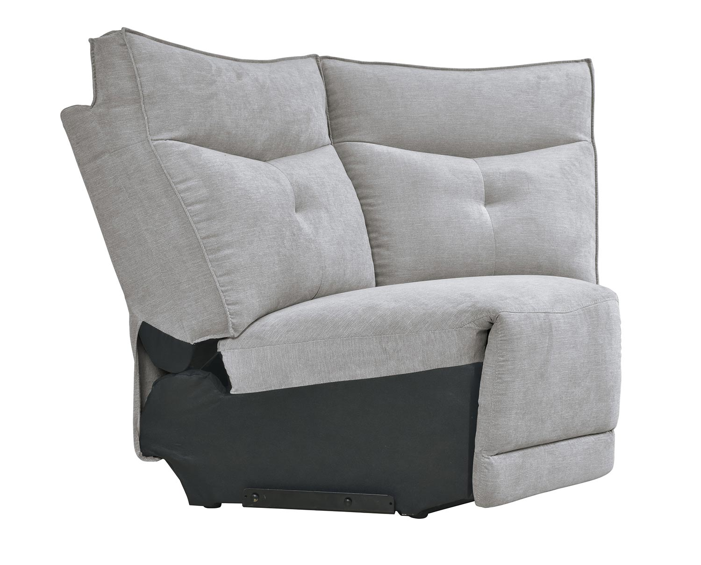 Homelegance Tesoro Corner Seat - Mist Gray