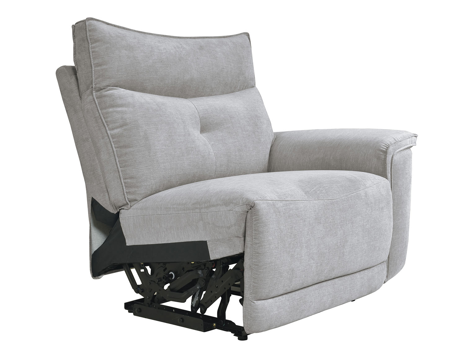 Homelegance Tesoro Right Side Reclining Chair - Mist Gray