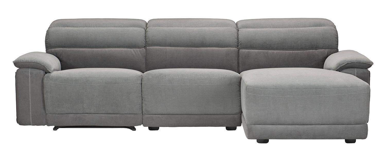 Homelegance Ember Reclining Sectional Sofa Set - Dark Gray