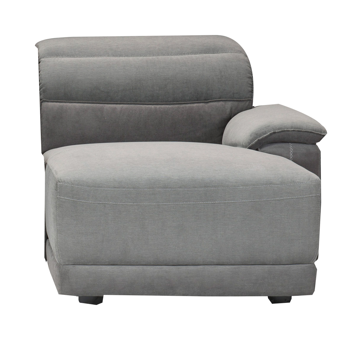 Homelegance Ember Right Side Chaise - Dark Gray