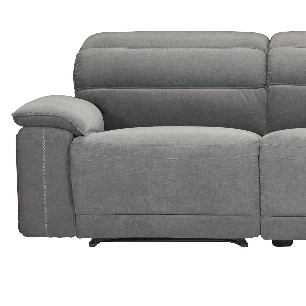 Homelegance Ember Left Side Reclining Chair - Dark Gray