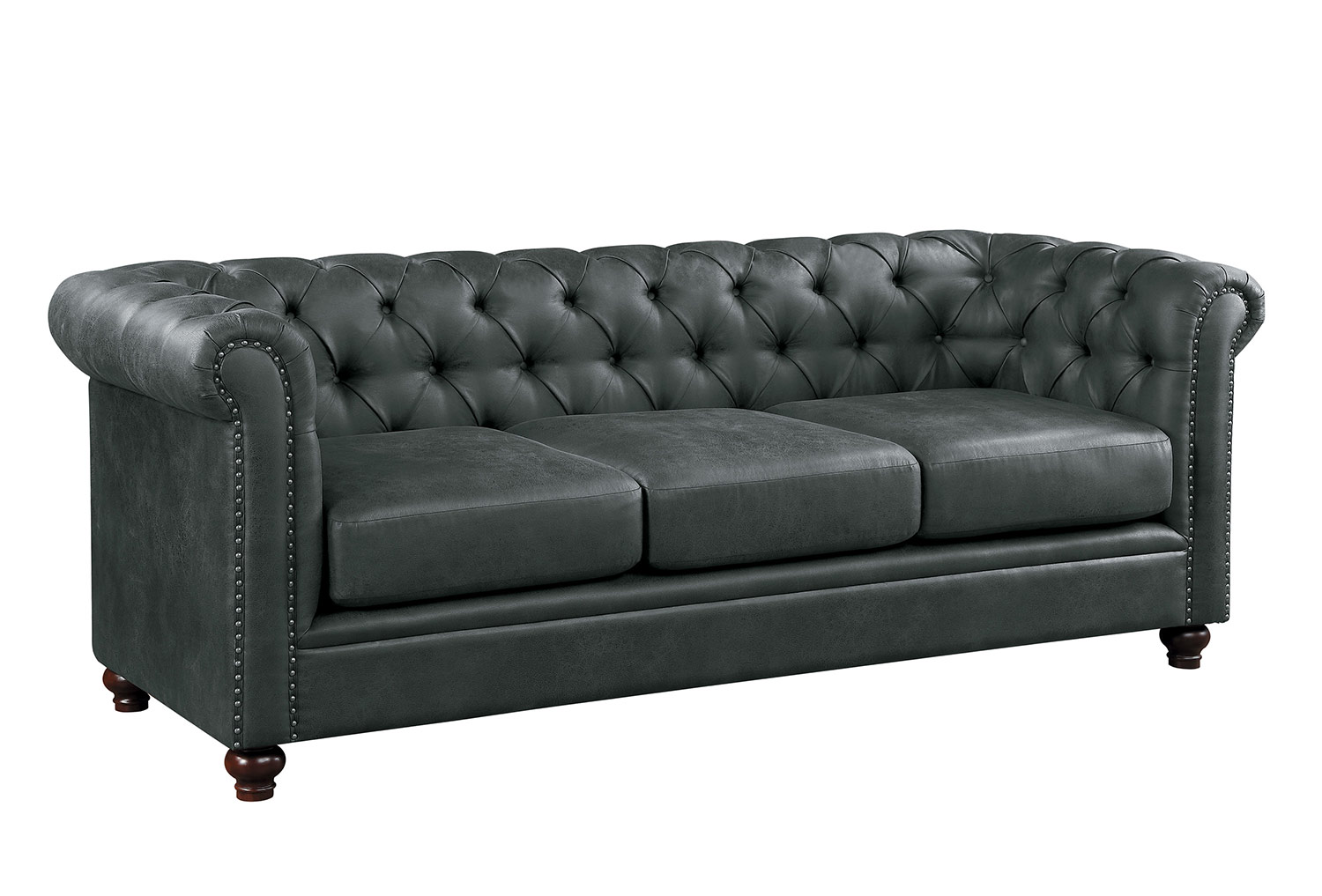 Homelegance Wallstone Sofa - Gray