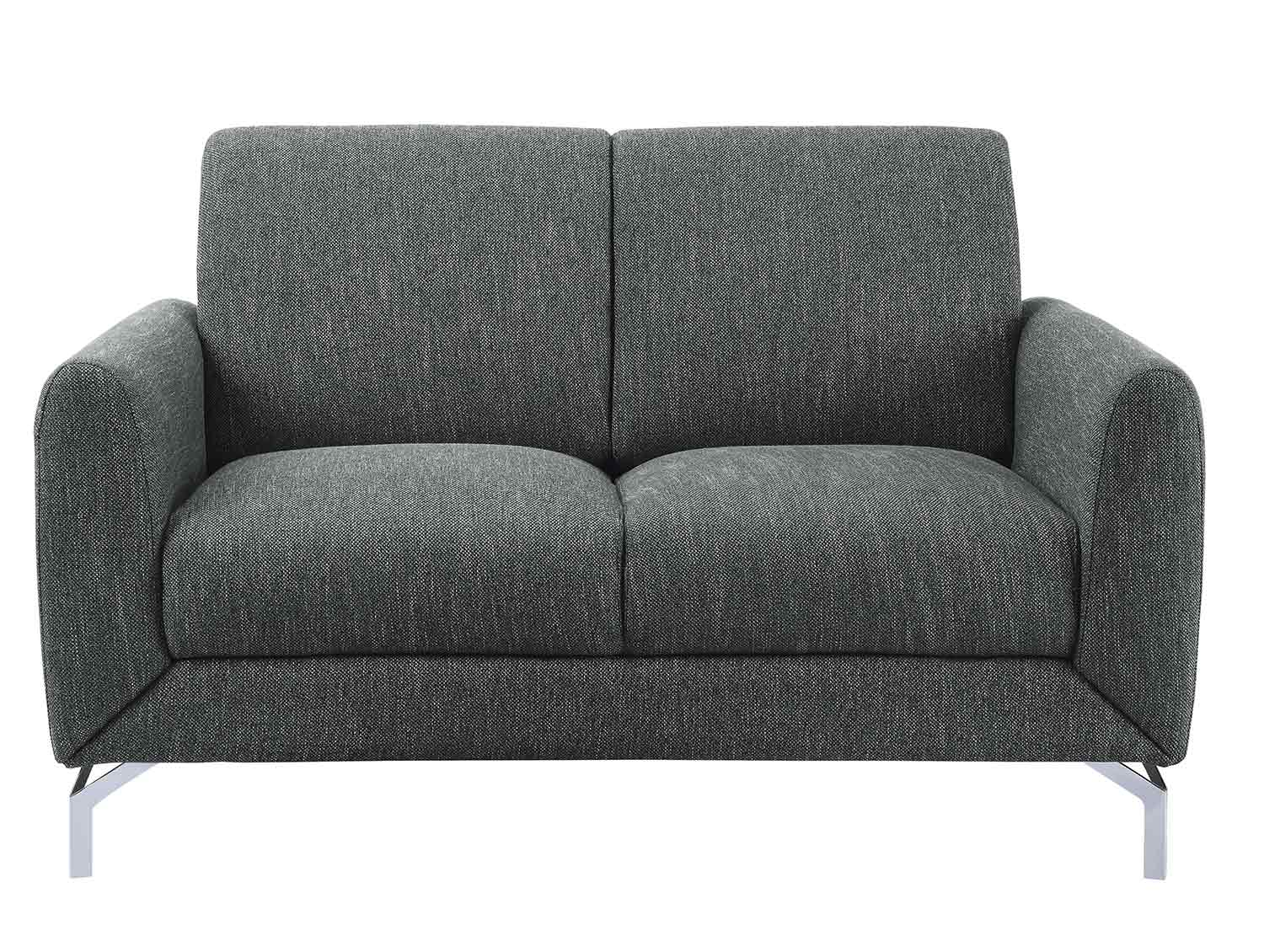 Homelegance Venture Love Seat - Dark gray