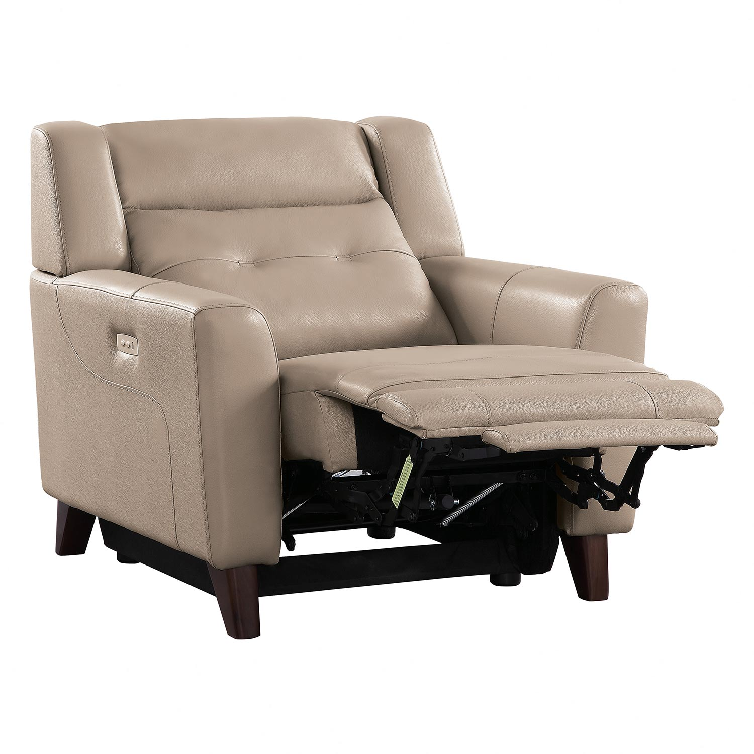 Homelegance Wystan Power Reclining Chair - Beige