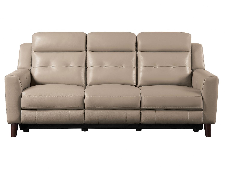 Homelegance Wystan Power Double Reclining Sofa - Beige