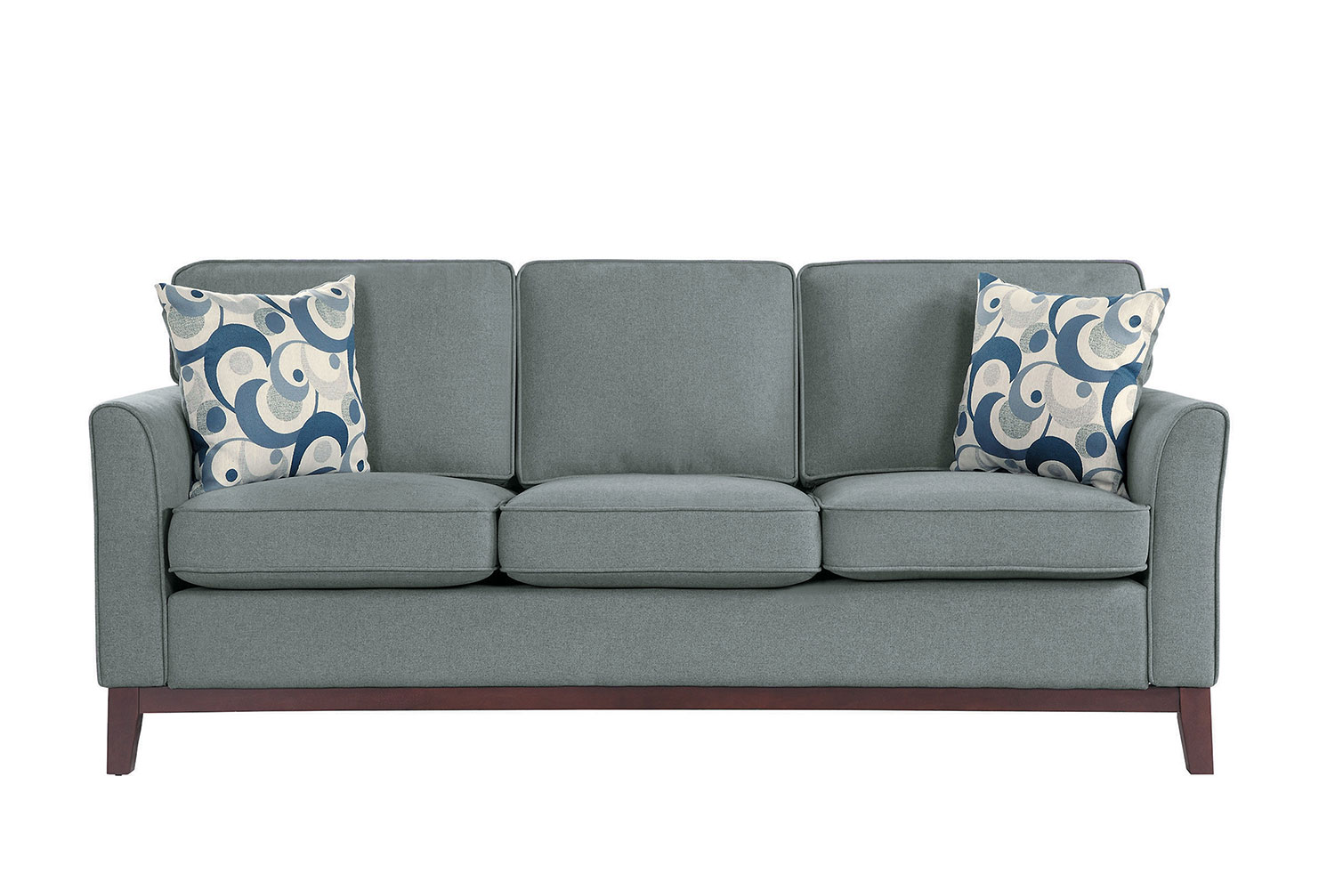 Homelegance Blue Lake Sofa - Gray