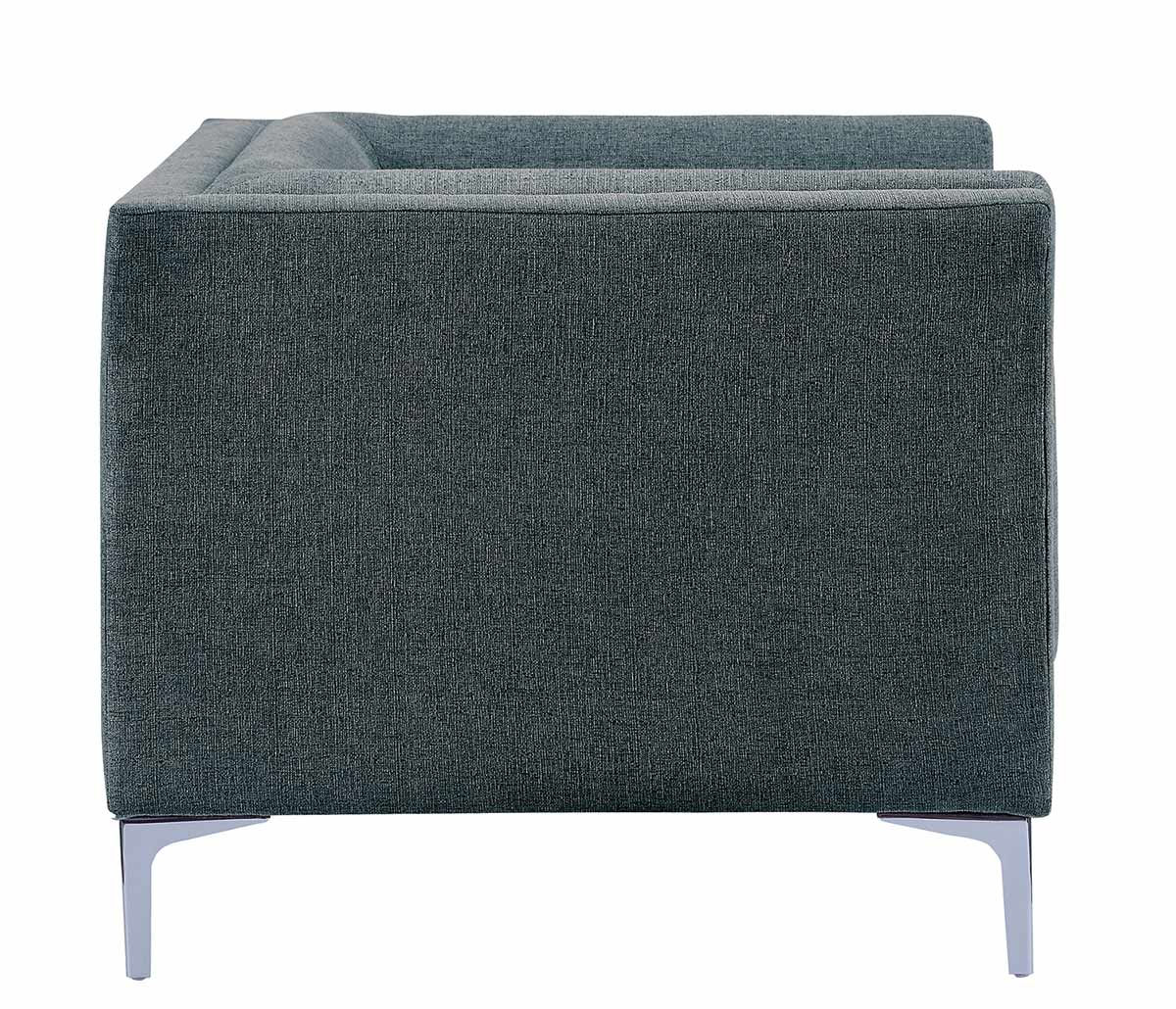 Homelegance Vernice Chair - Dark blue gray