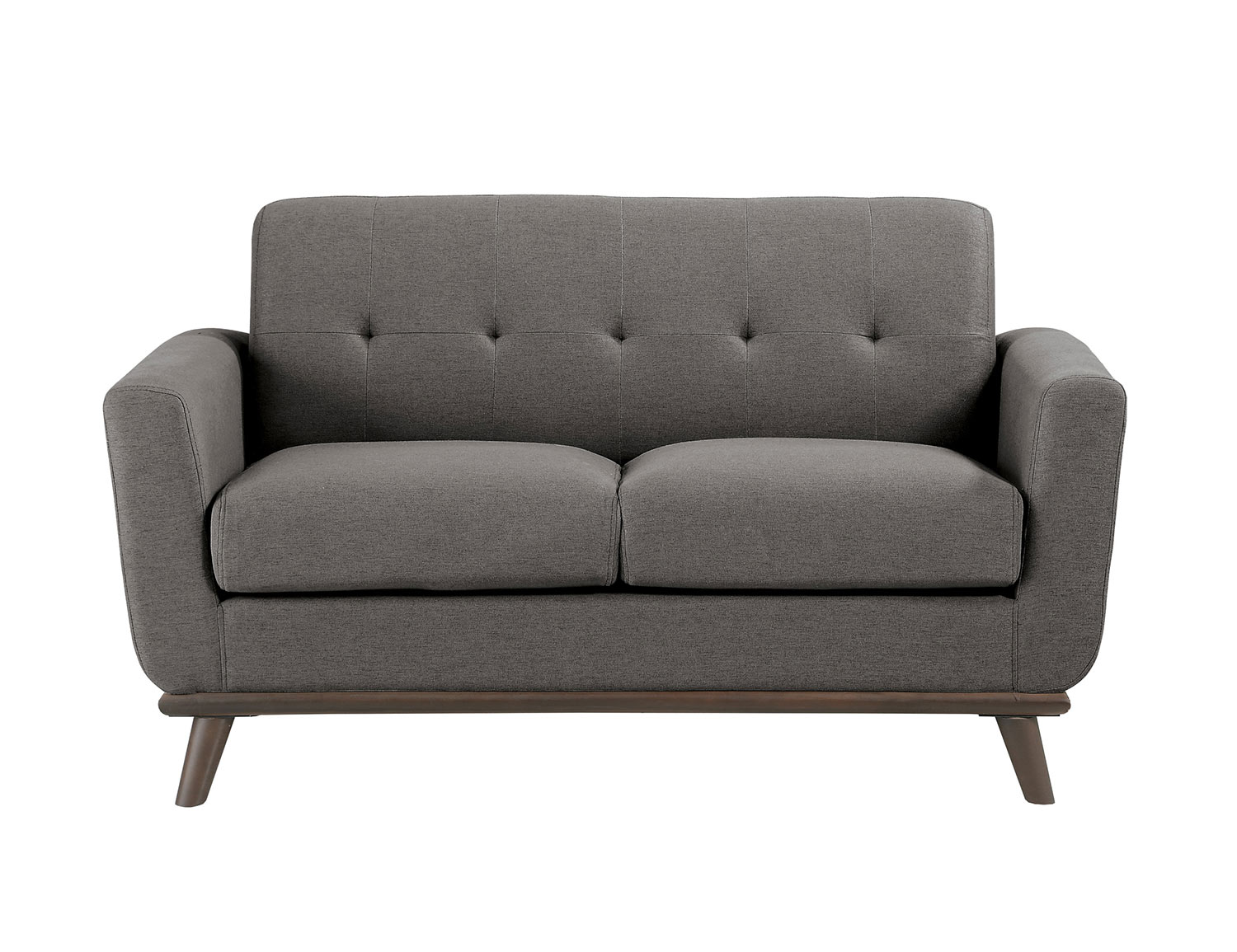 Homelegance Rittman Love Seat - Gray