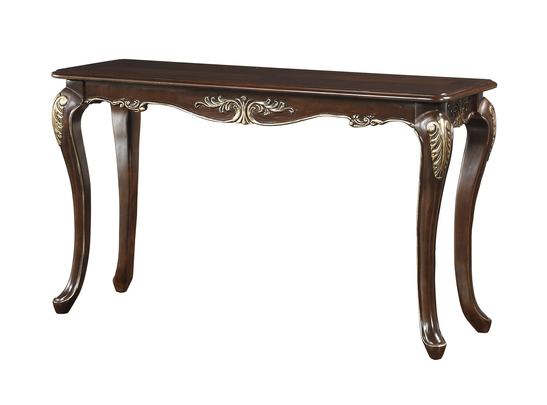 Homelegance Croydon Sofa Table - Rich Cherry