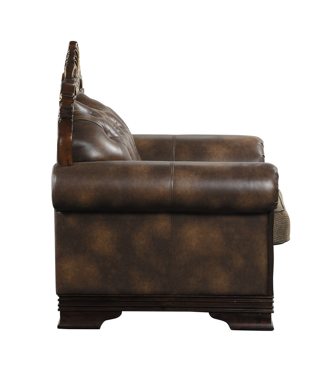Homelegance Croydon Chair - Brown