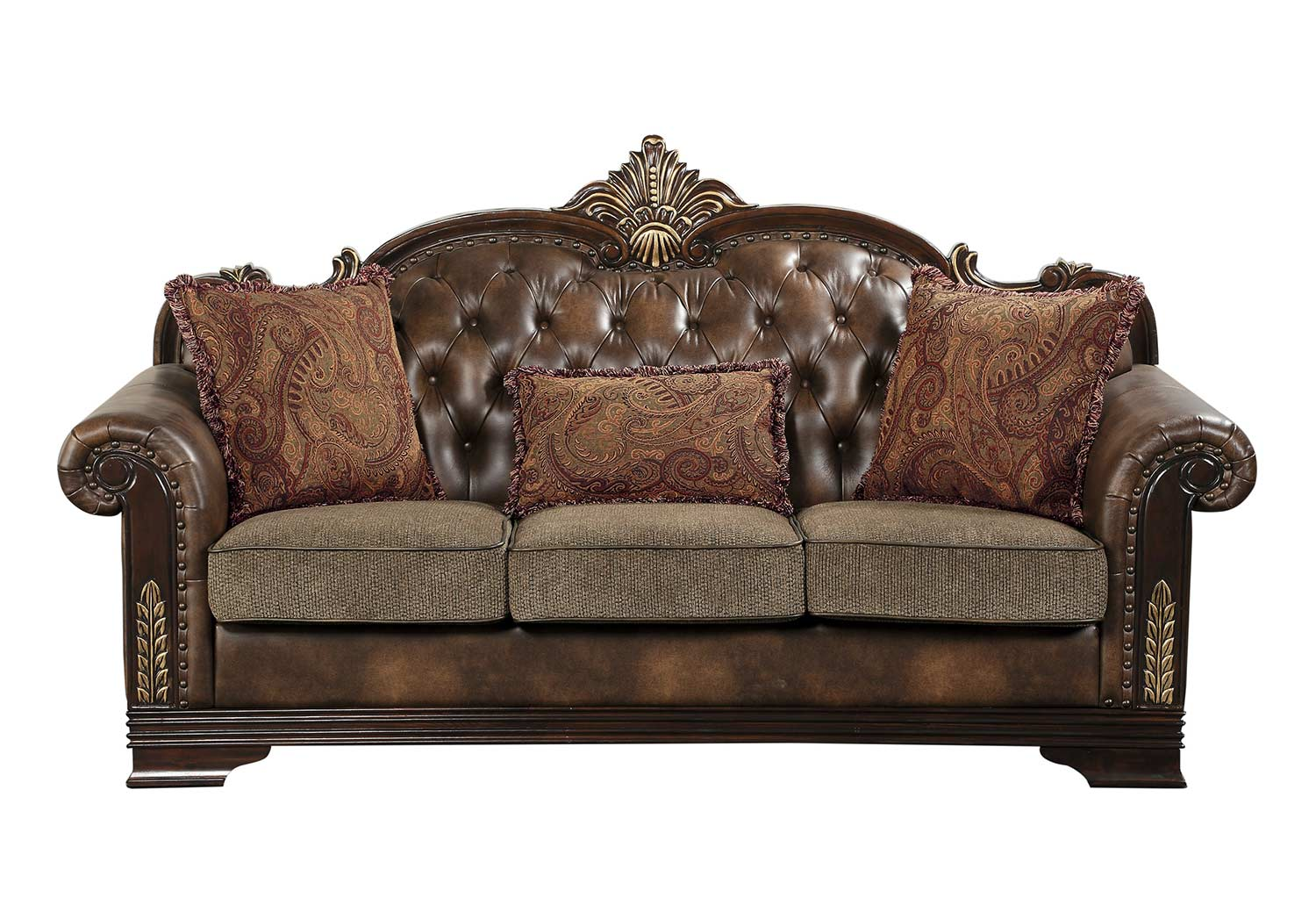 Homelegance Croydon Sofa - Brown