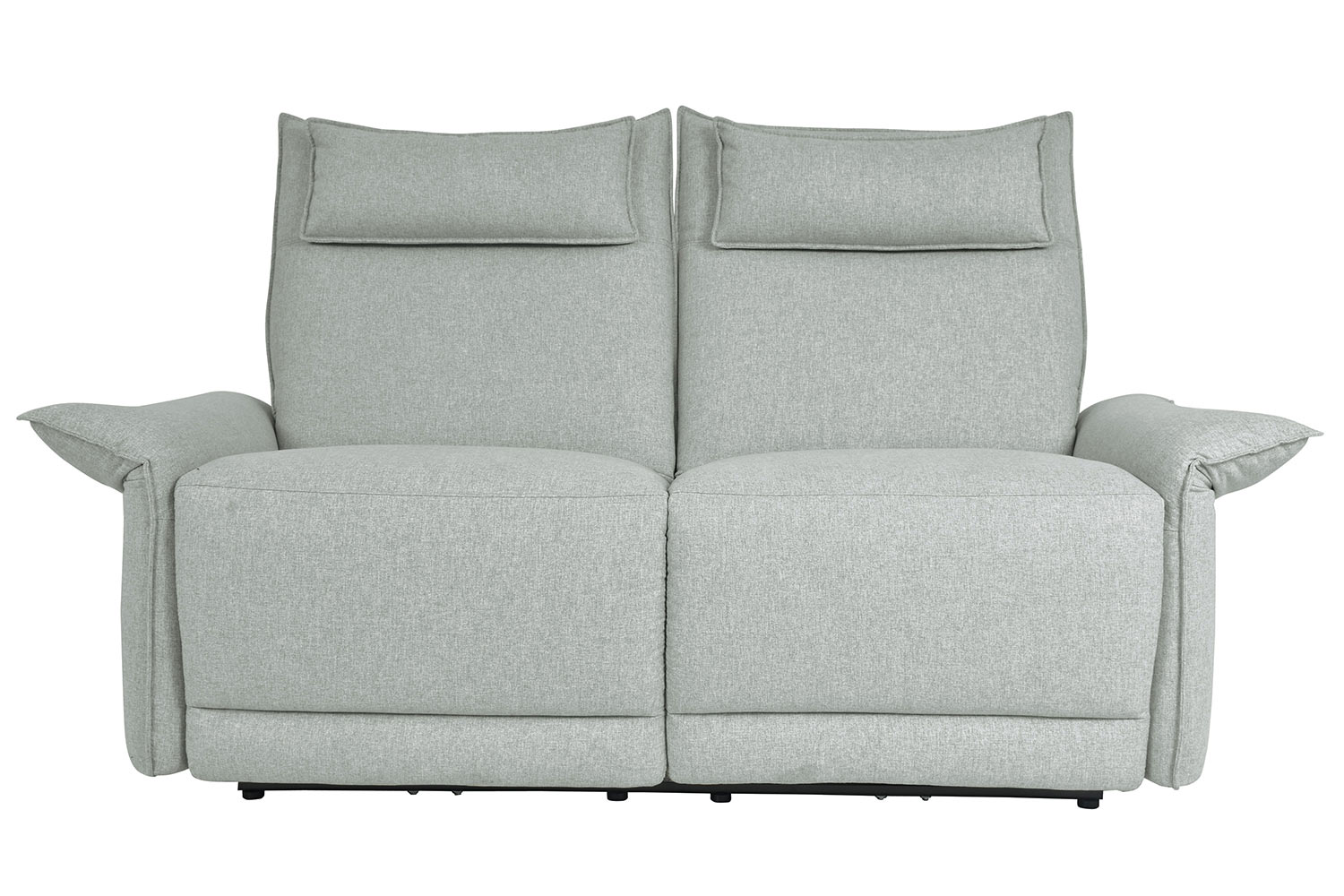 Homelegance Linette Power Double Reclining Love Seat with Power Headrests - Ocean