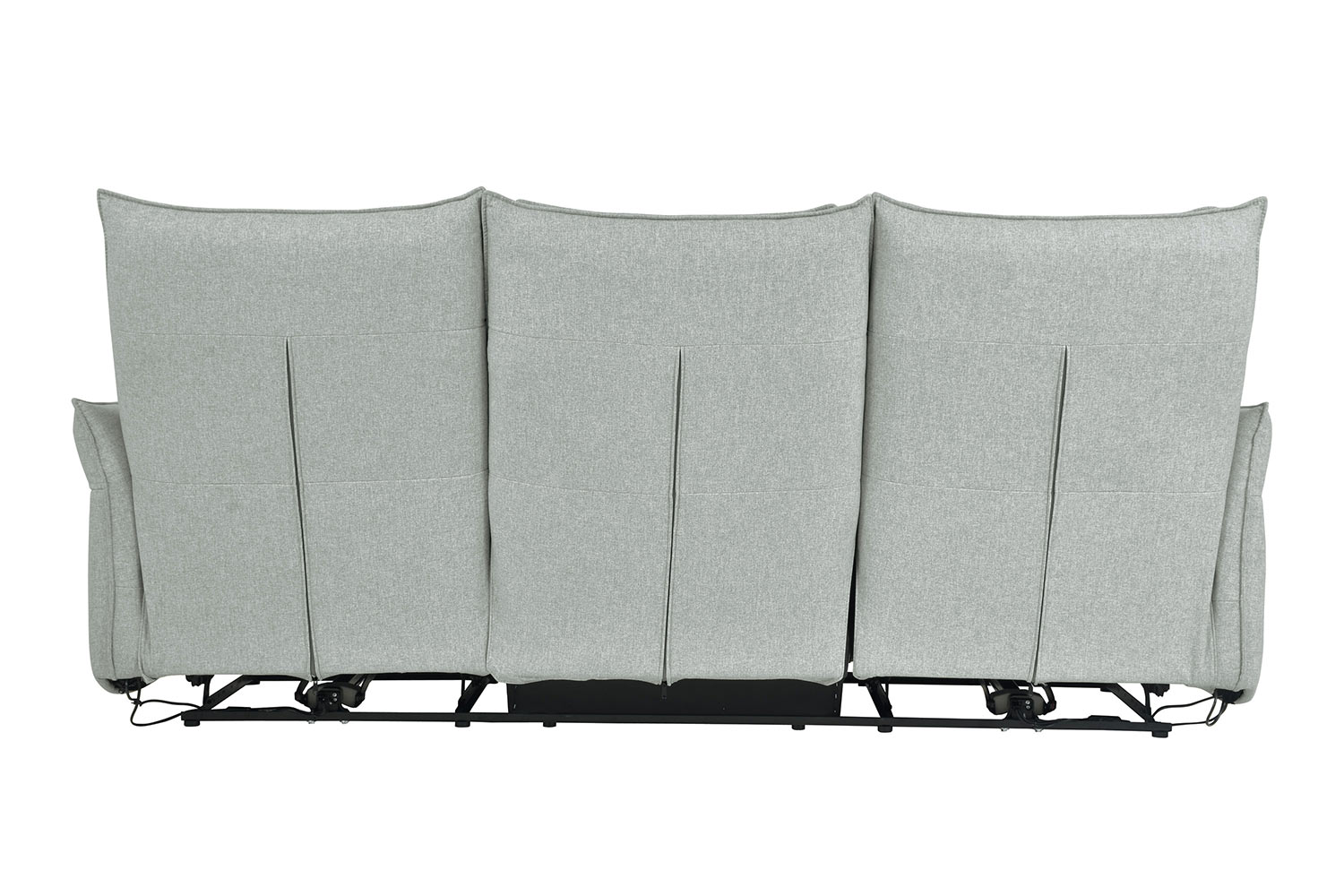 Homelegance Linette Power Double Reclining Sofa with Power Headrests - Ocean
