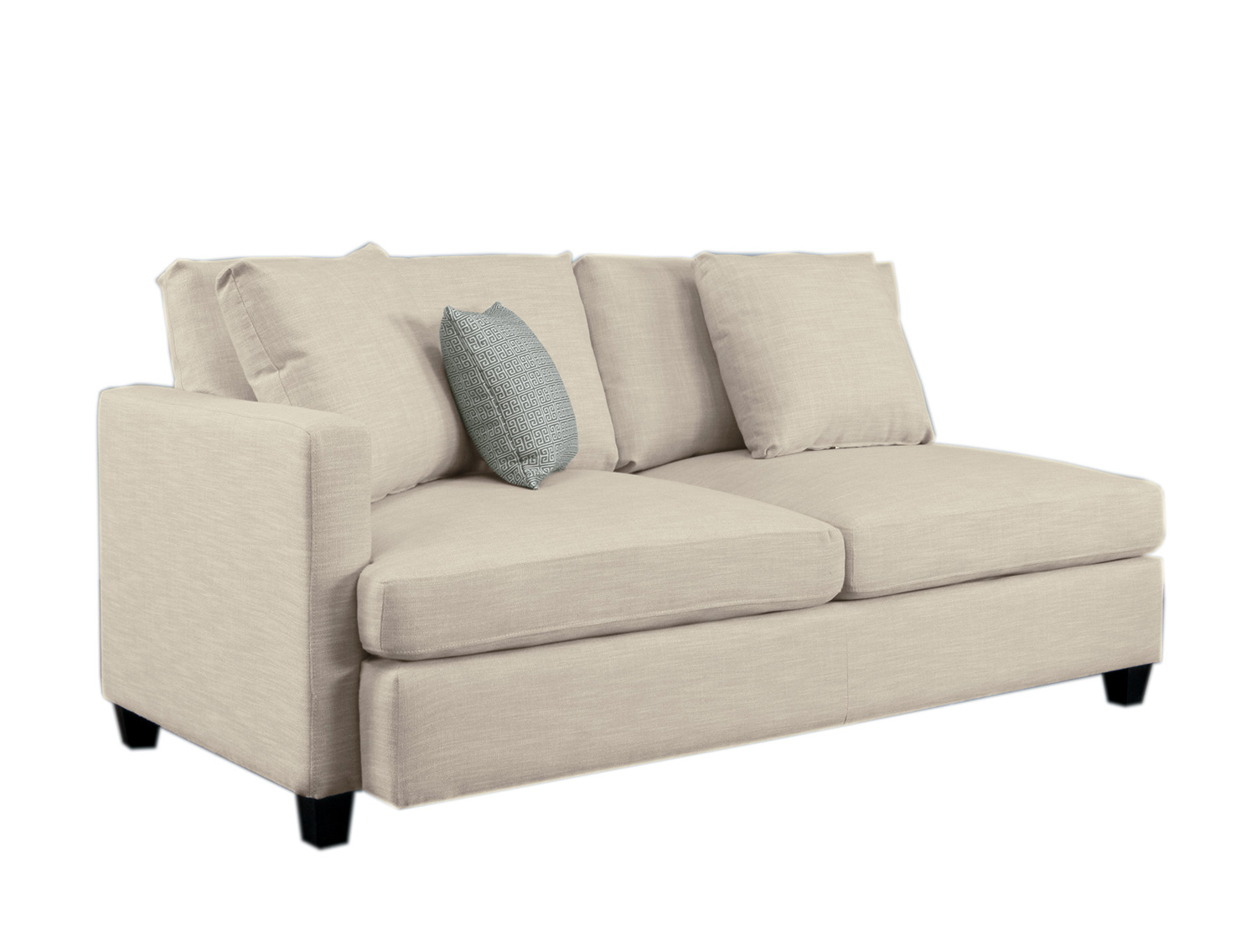 Homelegance Southgate Left Side 2-Seater - Ivory