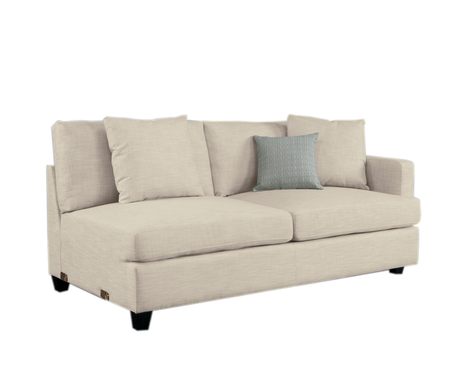 Homelegance Southgate Right Side 2-Seater - Ivory