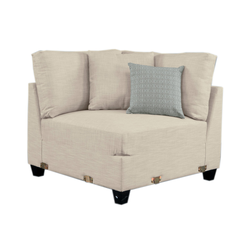 Homelegance Southgate Corner Seat - Ivory
